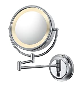 Vanity Lights Not Hardwired : Amazon.com - Kimball & Young Lighted Reversible 5x/1x Hardwired Makeup Mirror - Lighted Bathroom ...