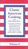 Classic American Cooking, #2 [VHS]