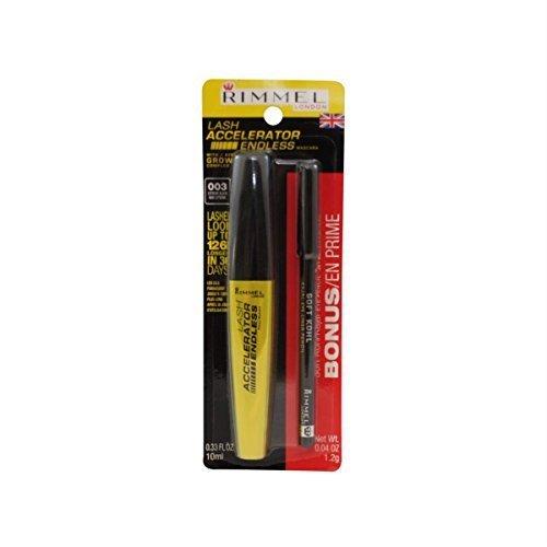 ec7dfcf0e9c Rimmel Lash Accelerator Mascara 003 Black - Bonus Soft Kohl - Import It All