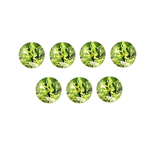 Natural Peridot Aaa Quality Loose Gemstone 1 Mm Faceted Round 10 Pieces Lot From Dashrath International front-1011171