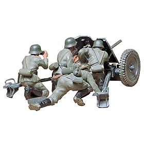 Ger. 37mm Anti-tank Gun Military Model Kit