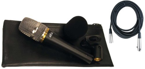 Heil Pr20-Ut Microphone W/Vinyl Carrying Bag, Microphone Clip, Windscreen, And 20' Xlr Cable!
