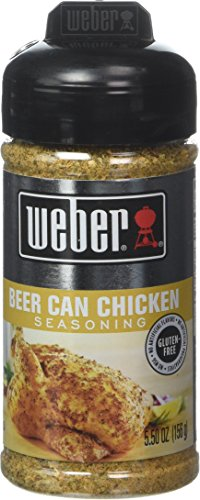 Weber Grill Beer Can Chicken, 6-Ounce (Pack of 4) (Beer Can Chicken Seasoning compare prices)