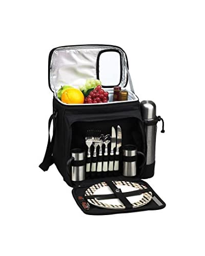 Picnic at Ascot London Picnic & Coffee Cooler For 2, Green