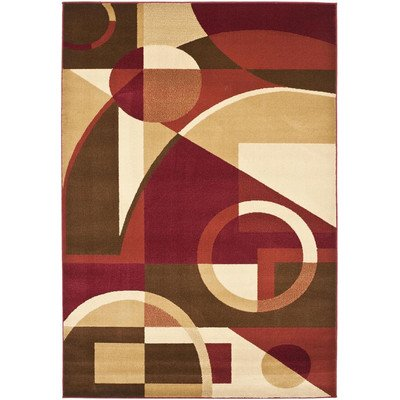 Safavieh Porcello PRL6845-4091 Area Rug - Red/Multi