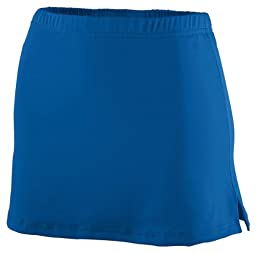 Augusta Ladies Poly/Spandex Team Skort (Royal Blue) (XL)