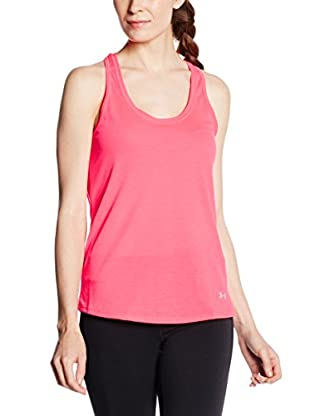 Under Armour Top Threadborne Streaker (Rosa)