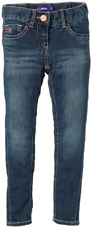 MEXX Jeans  Slim Fille - Bleu - Blau (439) - FR : 7 ans (Taille fabricant : 122)