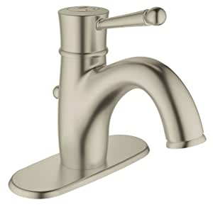 grohe 23307en0 wexford single handle bathroom faucet with