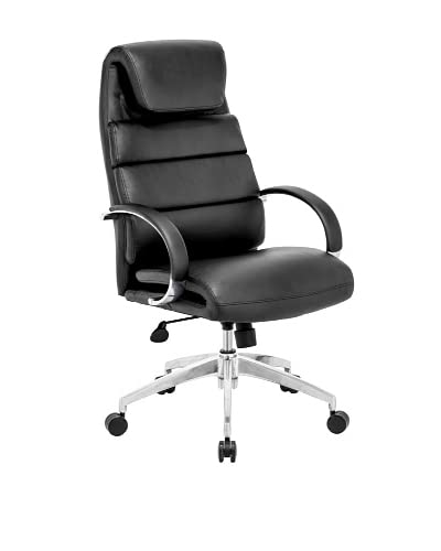Zuo Lider Comfort Office Chair, Black