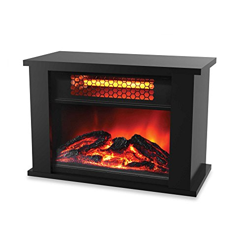 Life Zone 750 watts Electric Infrared Fireplace Heater Displays Flame Effect with Remote Control (220v Hanging Heater compare prices)