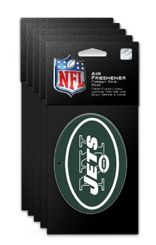 New York Jets Air Freshener (5-Pack) at Amazon.com