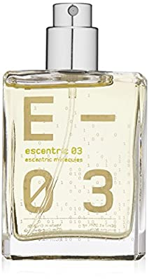 Escentric Molecules Eau de Toilette Spray Travel Refill, Escentric 03, 1.05 fl. oz.