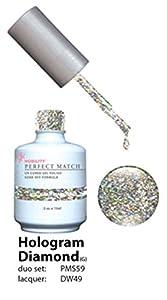 LECHAT Perfect Match Nail Polish, Hologram Diamond, 0.500 Ounce