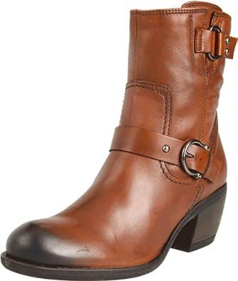 Clarks Women's Mascarpone Cafe Boot,Tan Leather,9.5 M US