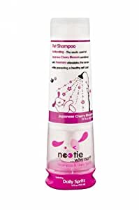 Nootie-Shampoo & Daily Spritz Combo Bottle,Pet Shampoo & Conditioning Spray in one Package, 1 Unit ,12oz/4oz, Japanese Cherry Blossom
