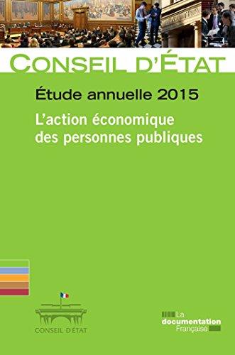 L'action économique des personnes publiques