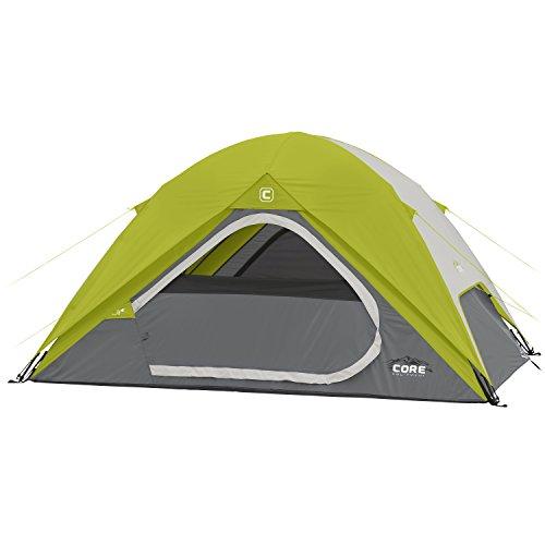 CORE 4 Person Instant Dome Tent - 9' x 7' (Instant 4 Person Tent compare prices)