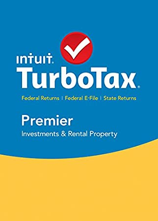 TurboTax Premier 2015 Federal + State Taxes + Fed Efile Tax Preparation Software - PC Download