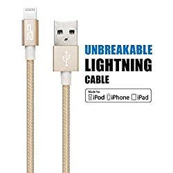 Planet M, MFI Ultra Tough Lightning to USB Cable (Metal Gold)