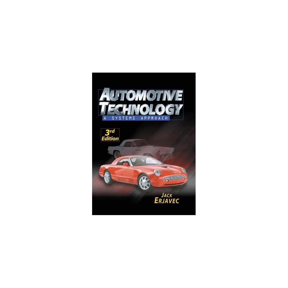 jack erjavec automotive technology pdf
