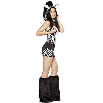 Winter Fur Sexy Fluffy ANIMAL BABE Adult Costume gogo Dance Fur Complete Outfit