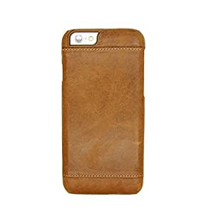 Unique Design Pierre cardin Back Cover For Apple IPhone 6 Plus-Brown