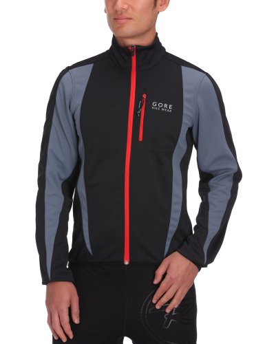 Gore Bike Wear Contest Soft Shell Men's Jacket - Black, S