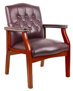 Boss Classic Traditional Chair, Burgundy