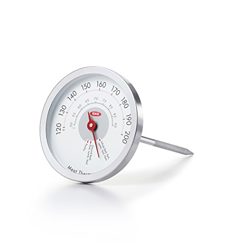 OXO Good Grips Analog Leave-In Meat Thermometer (Meat Thermometer Good Cook compare prices)