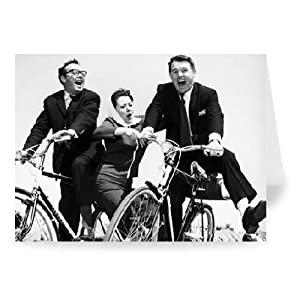Morecambe and Wise - Greeting Card (Pack of 2) - 7x5 inch - Art247 - Standard Size - Pack Of 2