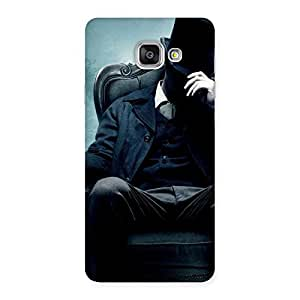Special Sitting Hat Man Back Case Cover for Galaxy A7 2016