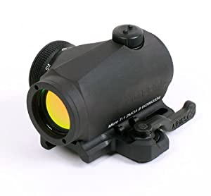 Aimpoint Micro T-1 (4 MOA) with A.R.M.S. #31 Throw Lever Mount