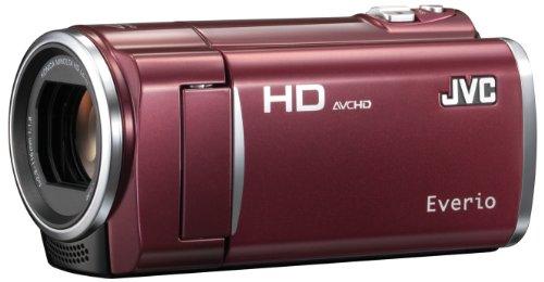 【Amazonの商品情報へ】Victor 8GBフルハイビジョンメモリームービー(ルージュレッド) GZ-HM450-R