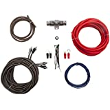 Lightning Audio 8 Gauge Ga Awg Amplifier Installation Wiring Amp Kit