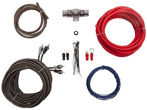 Lightning Audio 8 Gauge Ga Awg Amplifier Installation Wiring Amp Kit