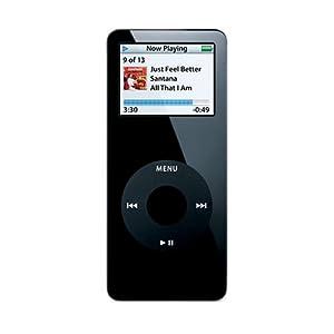 Apple iPod nano 4GB - Black [MA107FB/A]