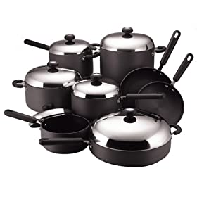 Amazon - Circulon Classic 14-Piece Cookware Set - $199.99