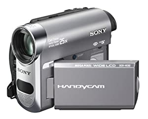 Sony DCR-HC62 1MP MiniDV Handycam Camcorder with 25x Optical Zoom