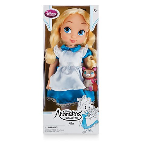 Ufficiale Disney Alice In Wonderland 41 centimetri Animator Toddler Doll