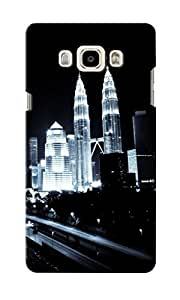 CimaCase Petronas Towers Designer 3D Printed Case Cover For Samsung Galaxy J7 2016