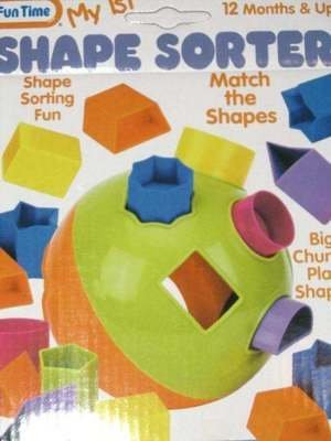 Fun Time My 1st Shape Sorter