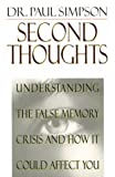Second Thoughts (0785274189) by Simpson, Paul
