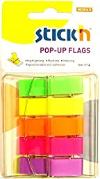 Sticky Notes Index Tabs Post It Style Page Markers Repositionable Adhesive Tabs (Fluorescent tabs)