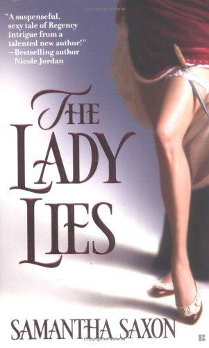 The Lady Lies (Berkley Sensation), SAMANTHA SAXON