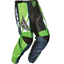 Fly Racing F-16 Youth Boys MX/Off-Road/Dirt Bike Motorcycle Pants - Green/Black / Size 22