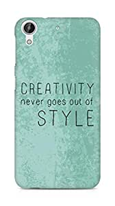 AMEZ creativity never goes out of style Back Cover For HTC Desire 626 G Plus