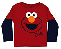 "Sesame Street ""Elmo"" Layered T-Shirt 2T-4T (4T)"