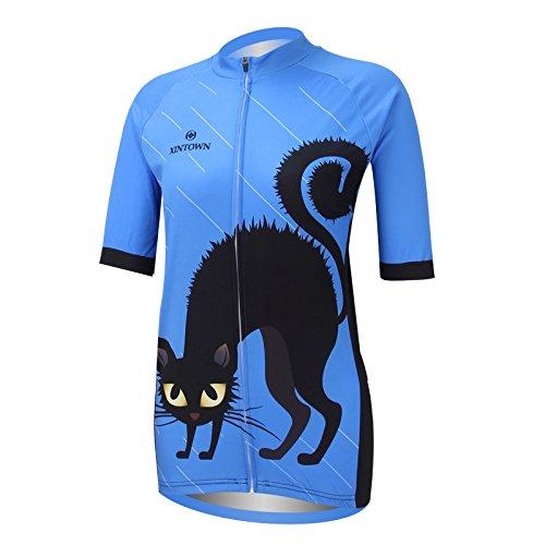 Spoz Women's Cycling Workout Sportwear Jersey Top Yours_t_308 S