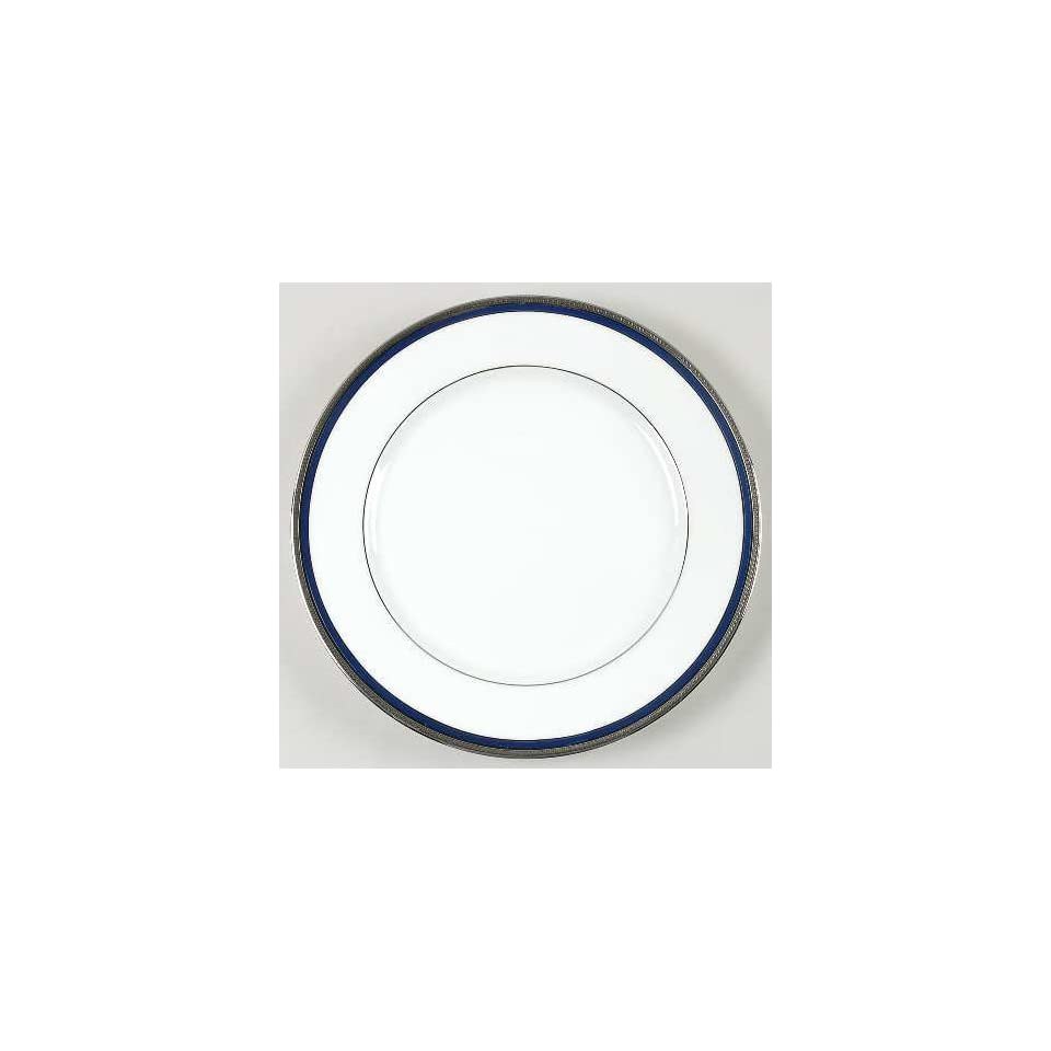 Jammet Seignolles Vincennes Blue (Platinum) Dinner Plate, Fine China Dinnerware